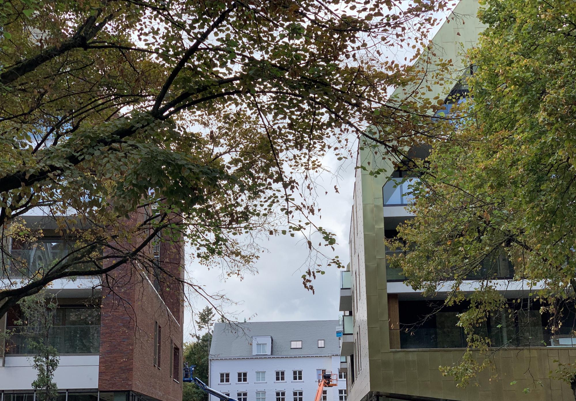Ursulinenhof in de eindsprint