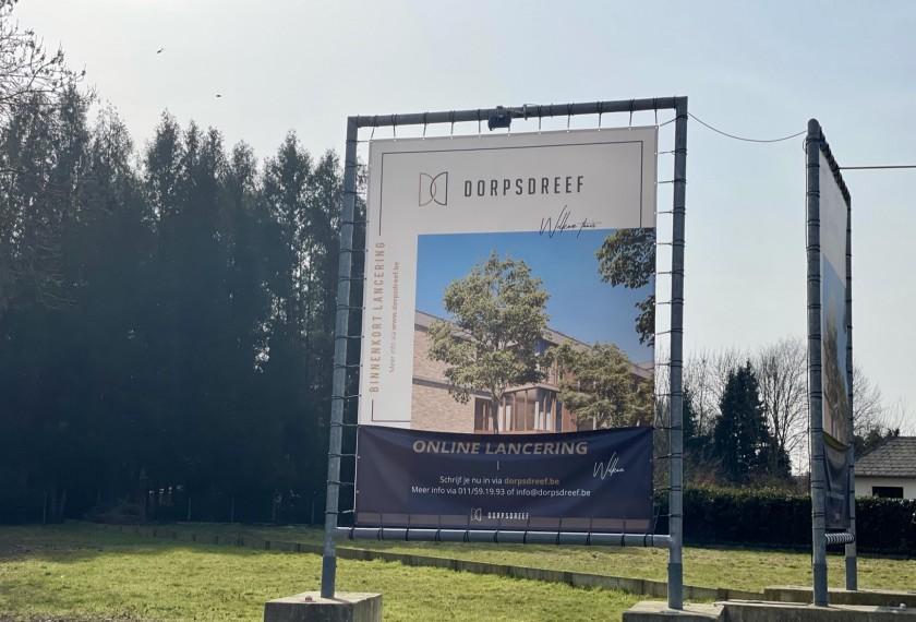 Dorpsdreef, het nieuwe project van Dethier in Zonhoven